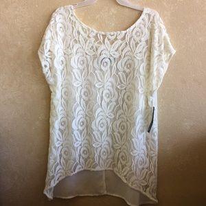 Lacey spring  XL women's Apt 9 shirt NWT